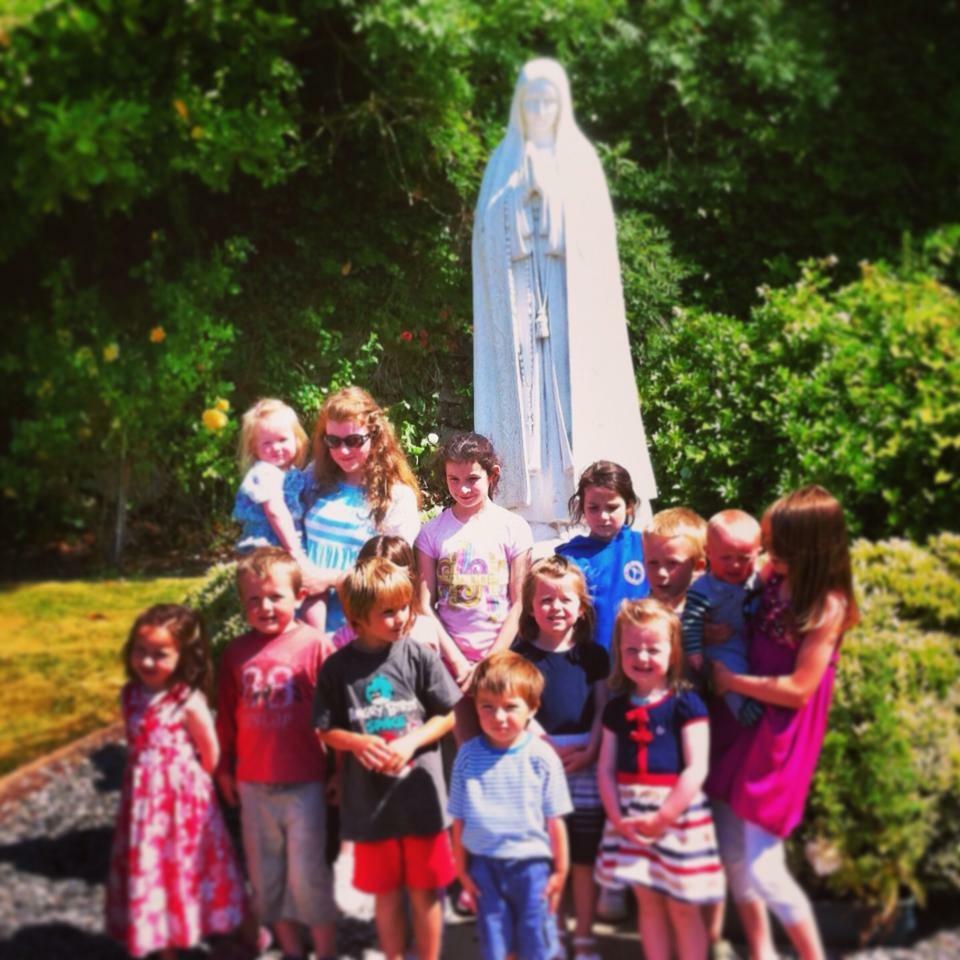 Family Retreat at Pantasaph Friary, Wales