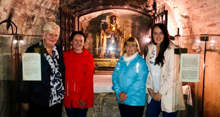 COTE Pilgrimage to the Shrine of St, Mary Magdalene at Saint-Maximin-la-Sainte-Baume, in France – May 2018