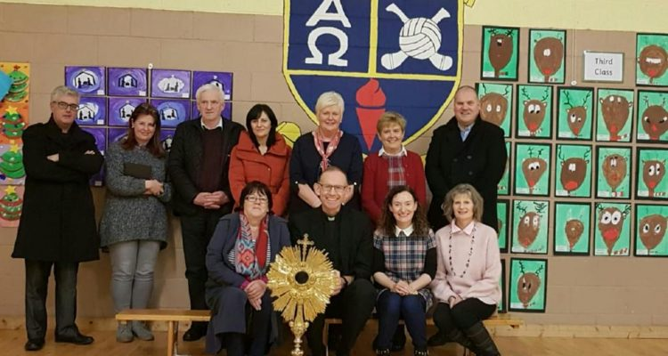 Bishop Fintan Monaghan joins COTE in Roscrea, December 2018