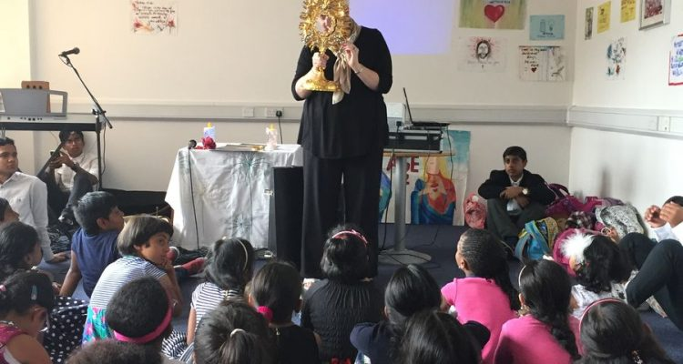 COTE visits the children of Sehion UK Ministries in Birmingham, England, June 2017
